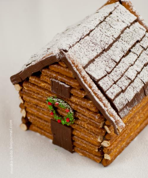 ginger log cabin