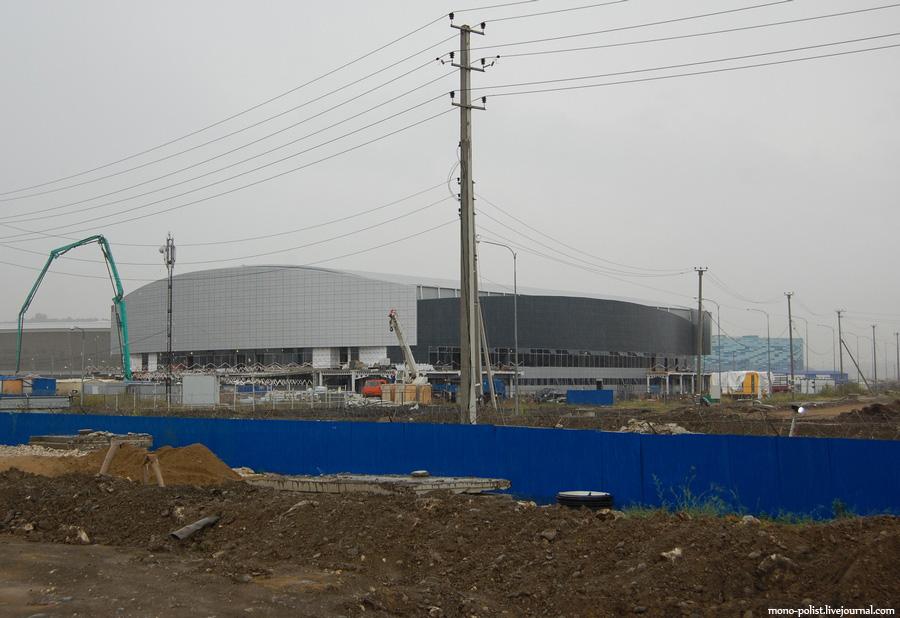 стройка олимпиада