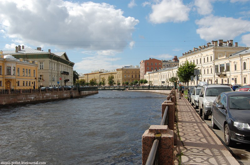 набережная реки мойки