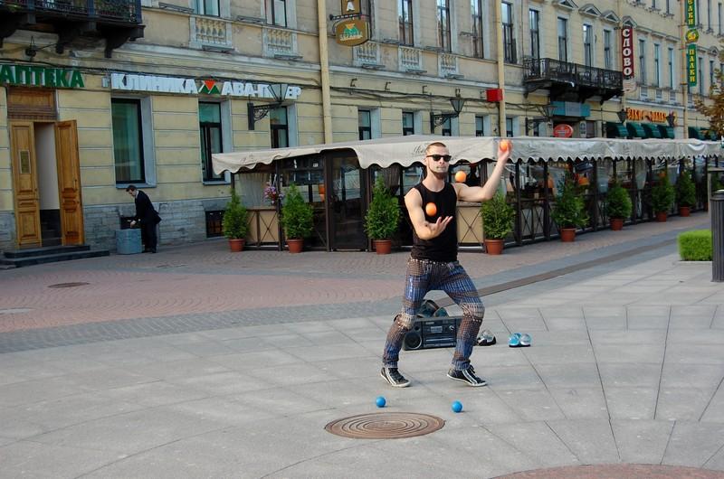 уличный артист