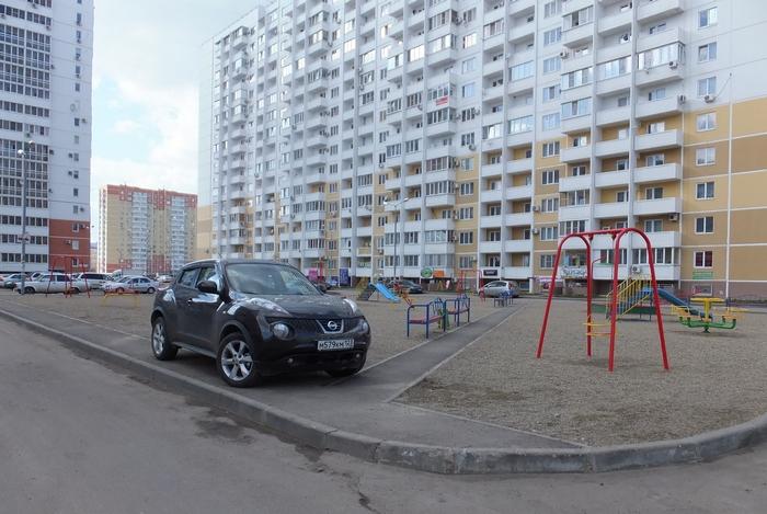 не правильная парковка