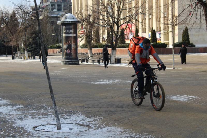 Как выглядит зима в Краснодаре Краснодарский край