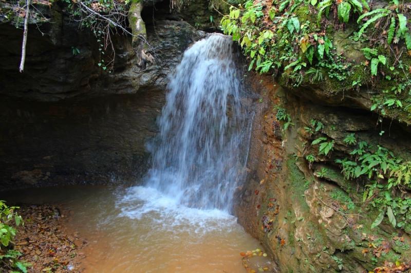 Мезмайский водопад