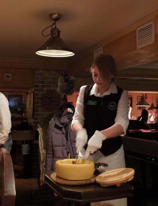 официант паста