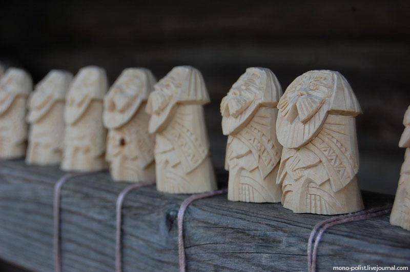 деревяные