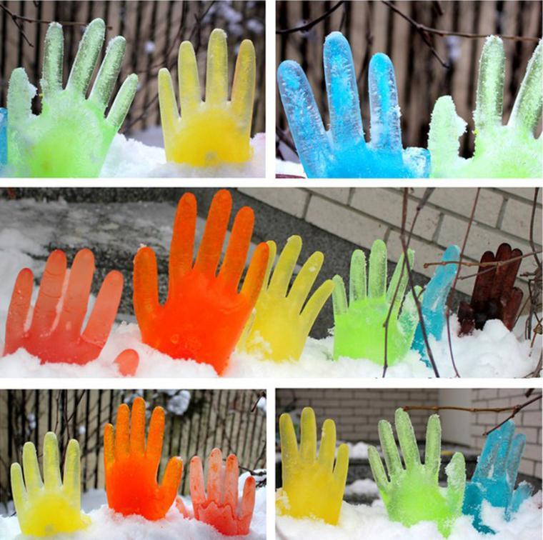 Фото ледяные фигуры в детском саду своими руками