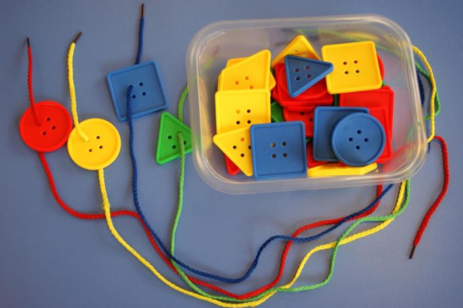 Развивающие игрушки для детей 1-3 лет своими руками 26