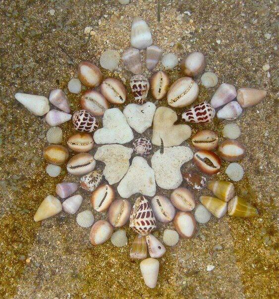 Цветы из песка своими руками