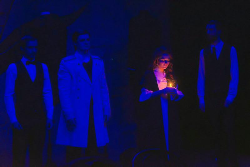 "Сцена из спектакля ""Печорин"". Фото с сайта театра."