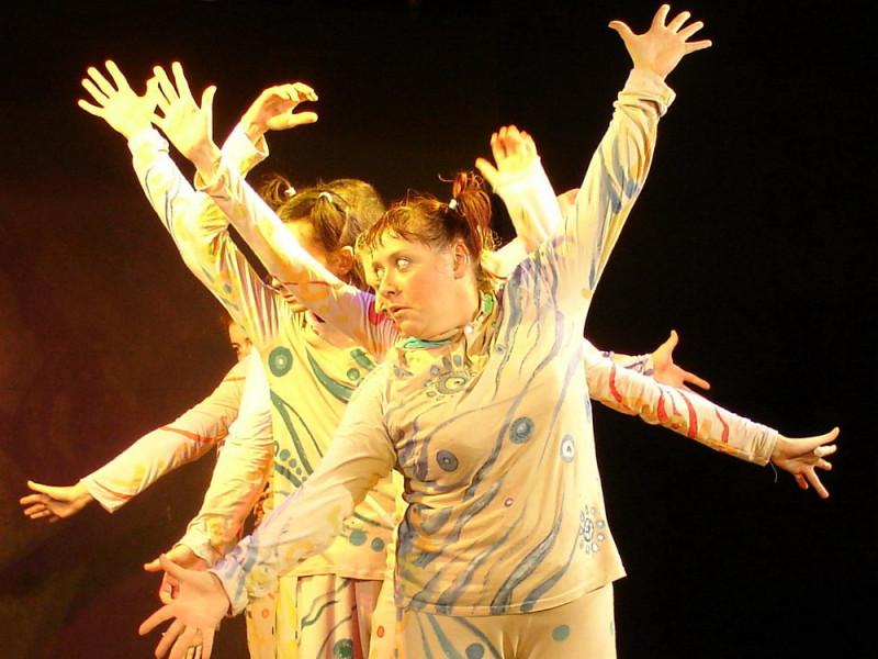 """Начало спектакля """"Ципа-дрипа"""". Фото с сайта театра."""