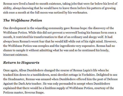 Sick fanfiction lupin remus The Marauders: