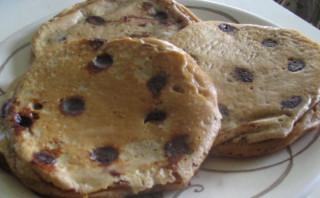 Mocha Chip Pancakes