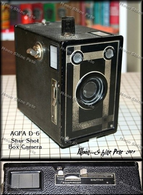 AGFA D-6 Shur Shot Box