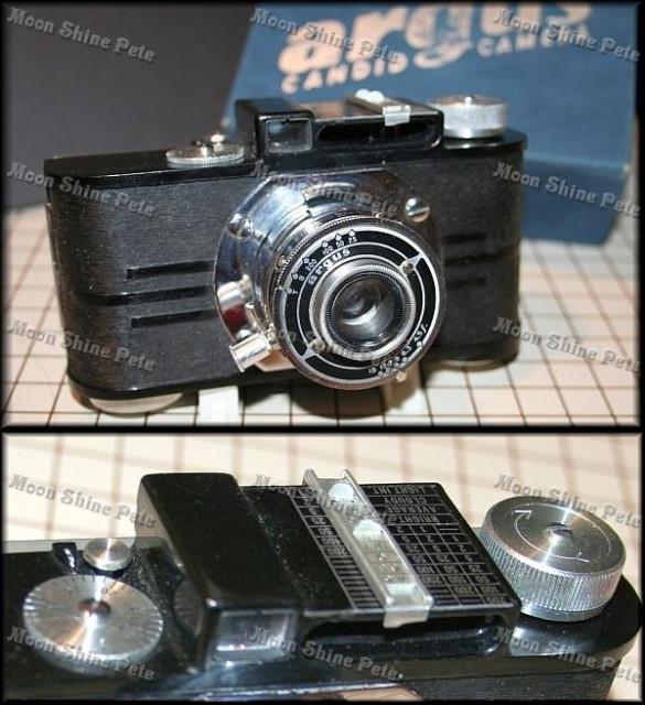 Pre War 1939 Argus candid camera