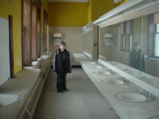 Creepy bathroom in the Nurse's cottage