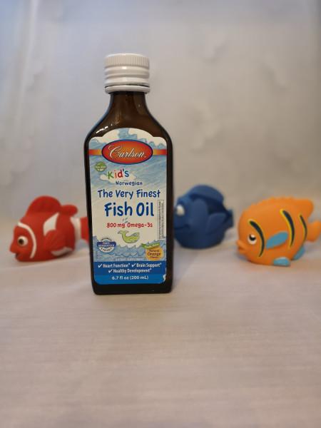 800 мг Омега-3 от Carlson Labs для детей
