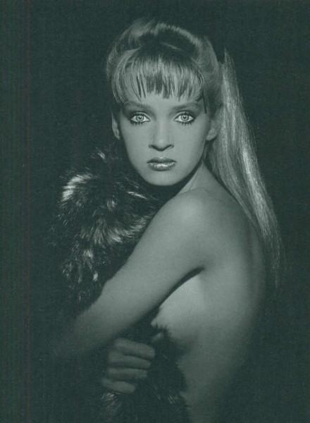 Портрет Умы, сделанный фотохудожницей Андреа Бланш (1985)