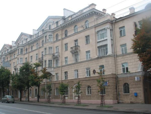 Жилищное строительство в БССР