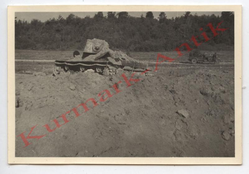N450 Foto Wehrmacht Litauen Russland Beute Panzer England USA Lend & Lease Front