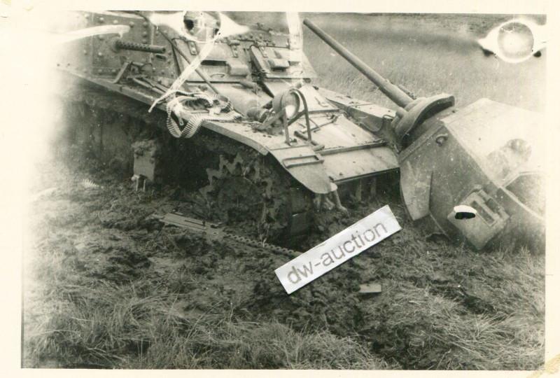 Ukraine , zerstörter amerikanischer Panzer (2)