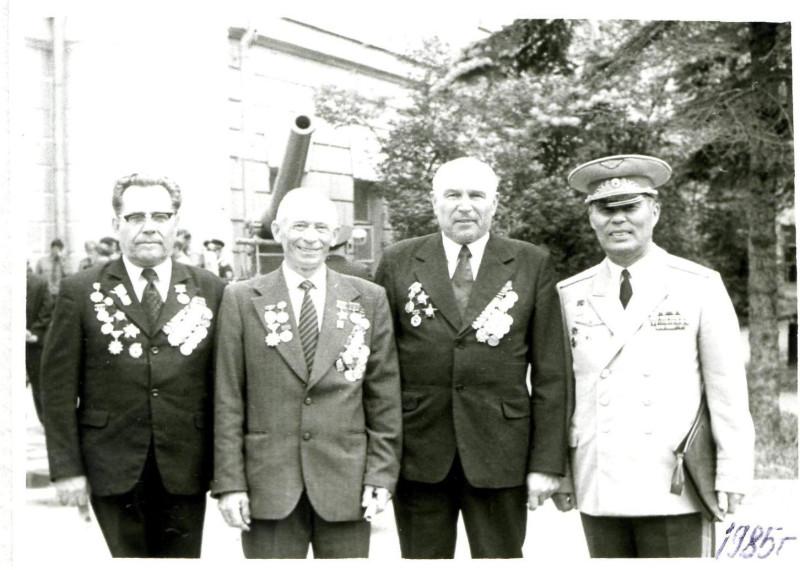 1985 встреча в Москве