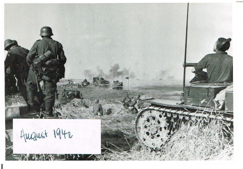 Russland Feldzug 12.08.1942 Raum Leonowskij 20. Panzer Division