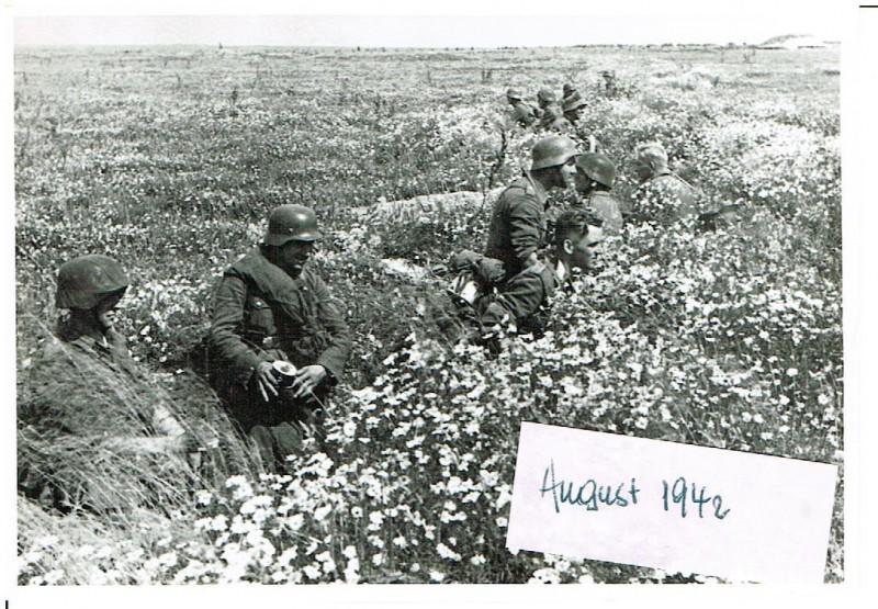 Russland Feldzug 14.08.1942 Kampf bei Nikitskoje
