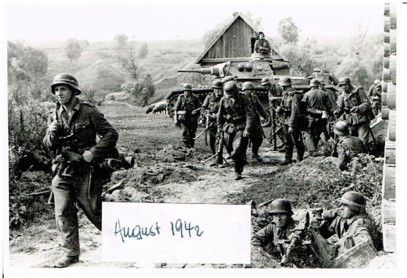 Russland Feldzug 14.08.1942 Kampf bei Nikitskoje 2