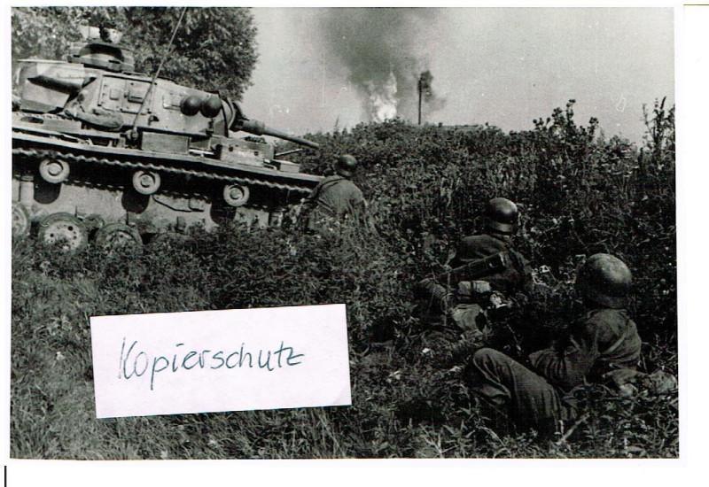 Russland Feldzug 1942 30.08.42 Panzer im Kampf um Nikitskoje