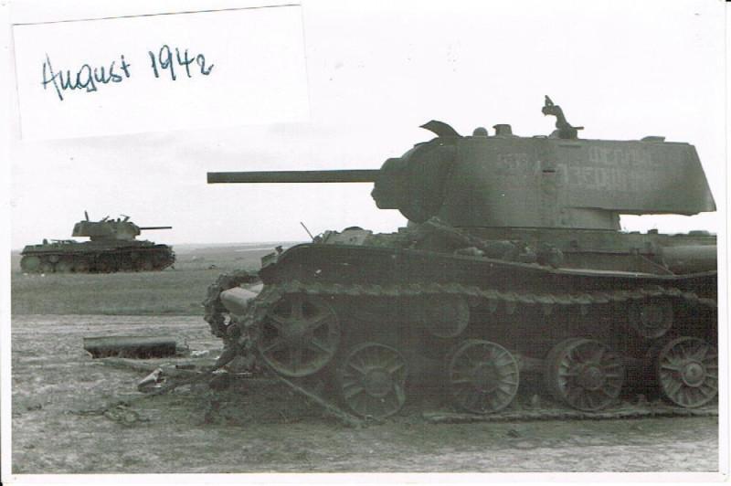 Russland Feldzug 17.08.1942 Vor Goskowa
