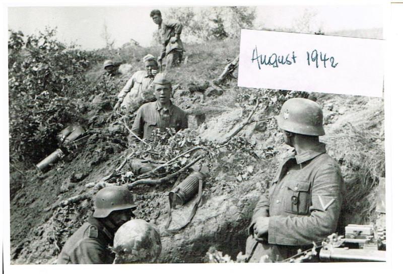 Russland Feldzug 18.08.1942 Shelezmica 26. Infanterie - Division