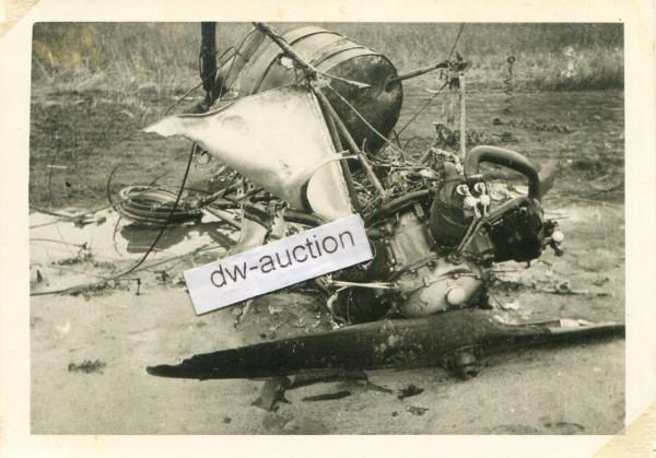 Inf. Rgt. 171 , Überreste Flugzeug