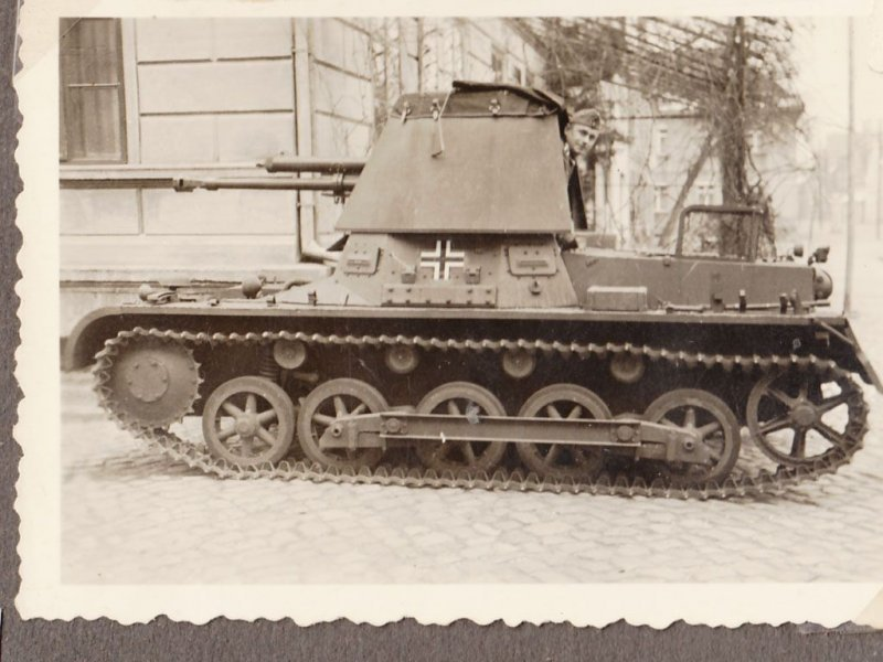 Fotoalbum von Eine Panzermann mit namnen Feldwebel Siegfried Girke  6