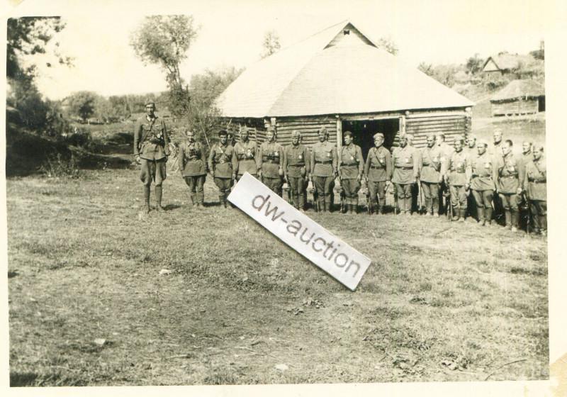 Wlassow Armee POA , Olt Graf Thun bei Verleihung ISA SELTEN