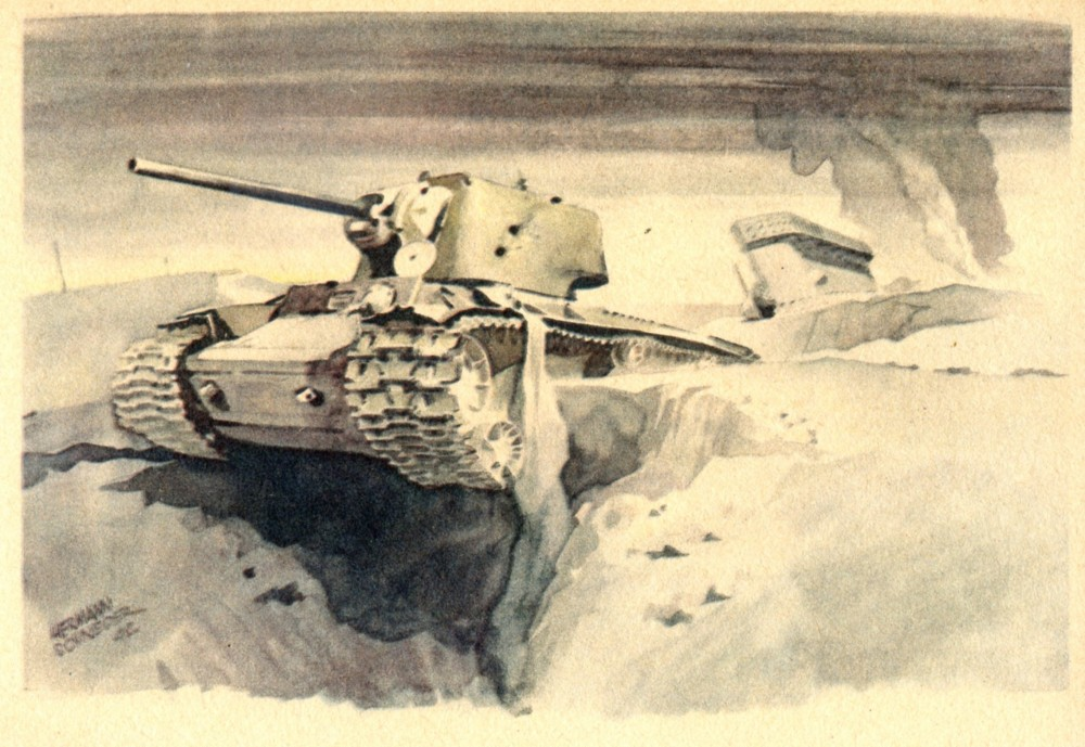Vernichtete Sowjet-Panzer(76) 2