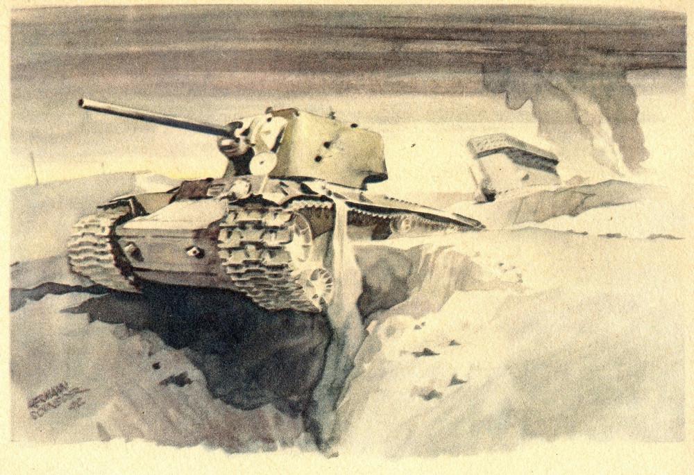 Vernichtete Sowjet-Panzer(76) 1