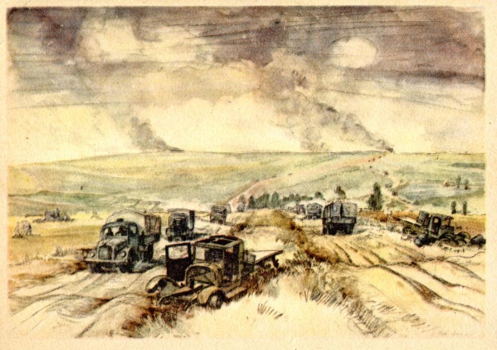 Sowjetische Strasse bei Schilkowo (90) 1