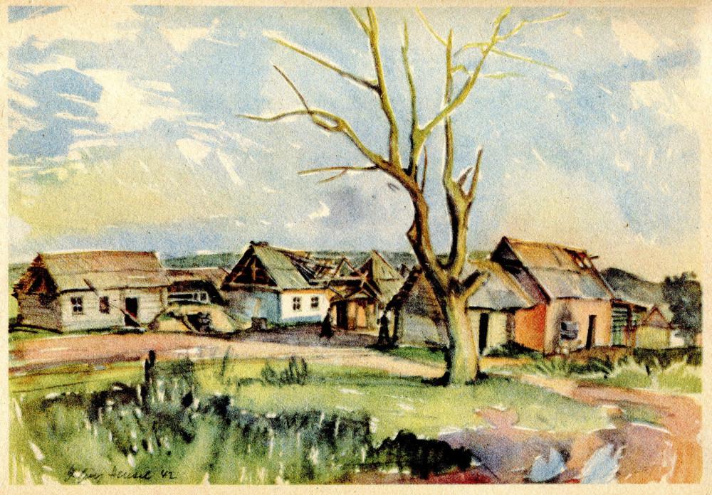 Ein Sowjetdorf (93) 1