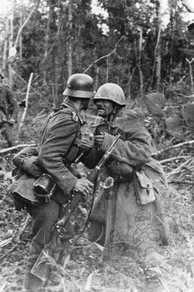 22.08.1942 Raum Wald südostw. Kolodesi Pz P K 693 Kraaysanger