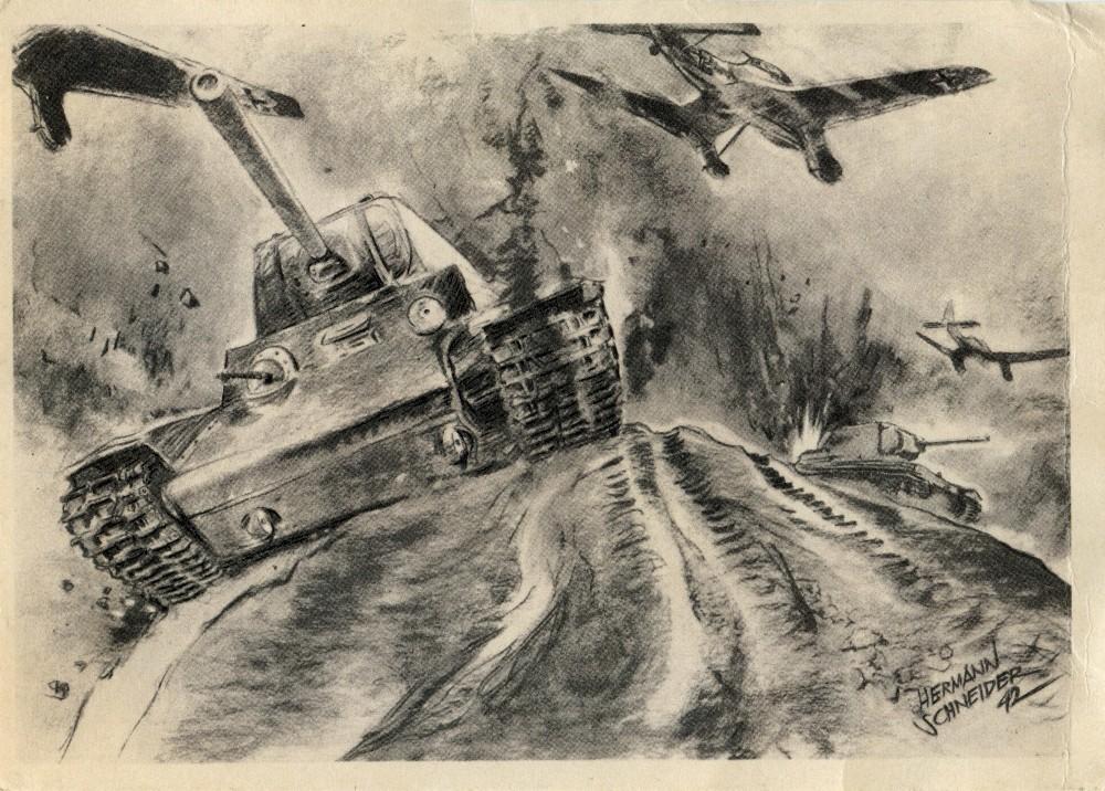 84 Stukaangriff auf Sowjetpanzer 1