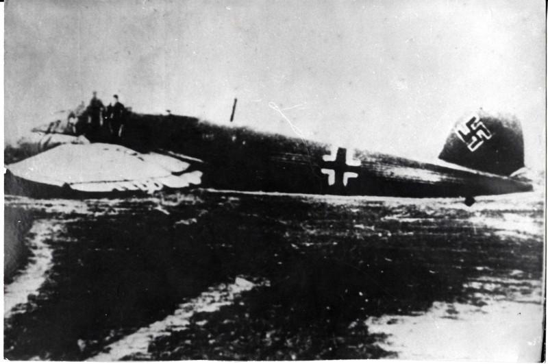 нвф778-3 Самолет Хе-111 на котром сбежал М.П. Девятаев
