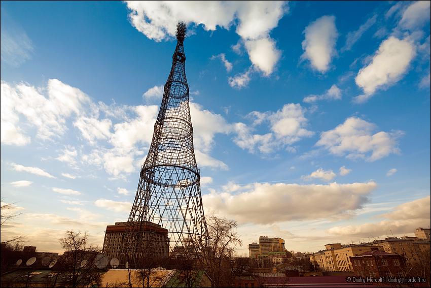 реставрация шуховской башни фото боге