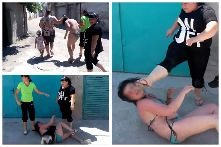 Жены бьют соперницу. Видео, которое забанил youtube