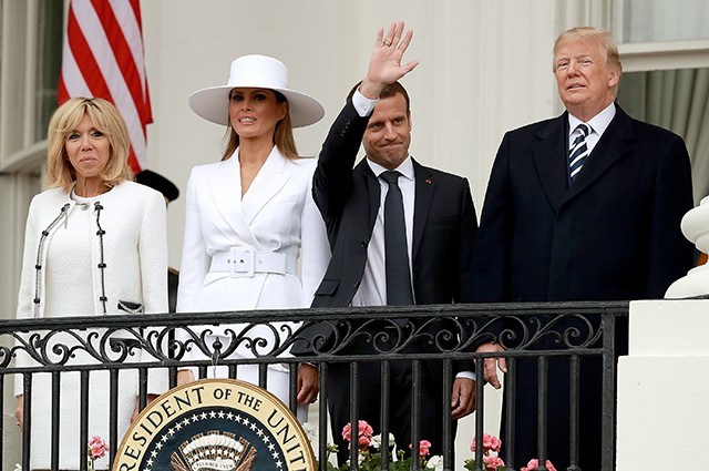 Melania Trump, who spoiled everything better, important, Always, Melania, someone, appearance, Macron, compete, Melania, bomb, have, nothing, which, both, Bridget, Madame, such, much, earns, more