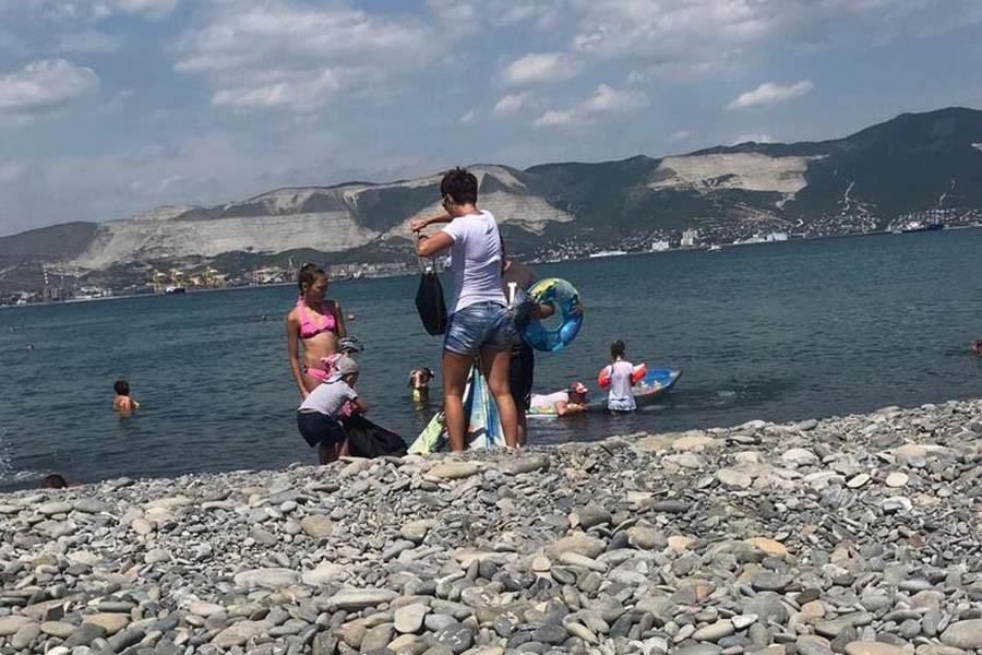 Шокирующая наглость на пляже Новороссийска
