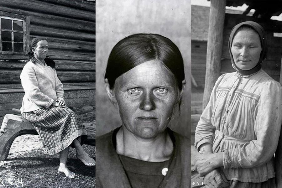 Бабий век короток? Как выглядели 35-летние женщины 100 лет назад