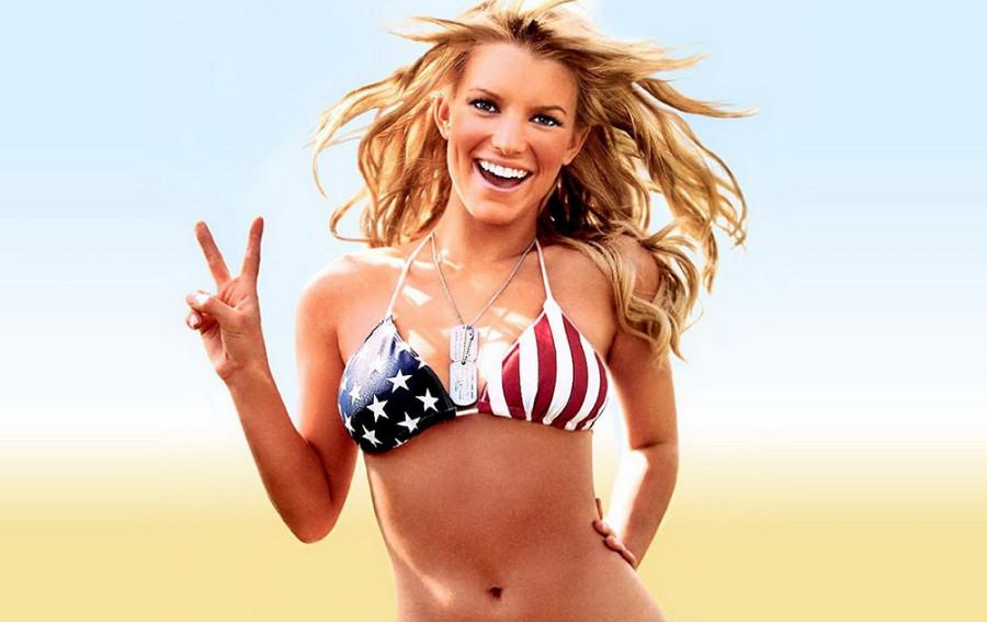америка-девушка