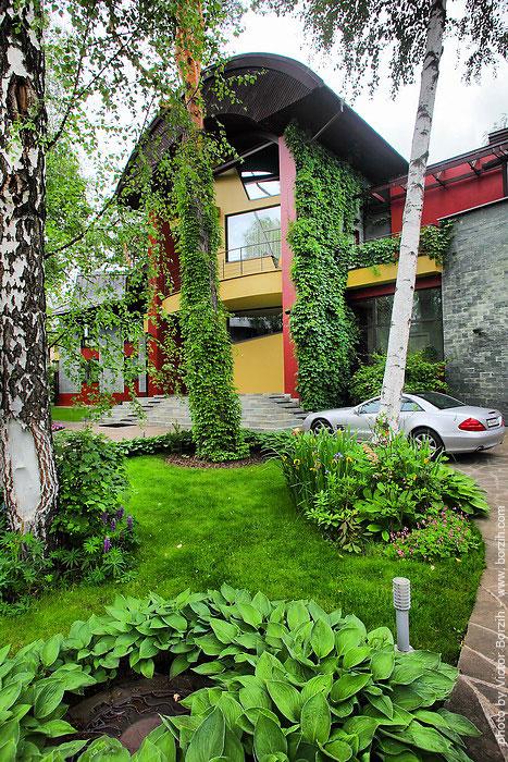 Дома на Рублевке снаружи и изнутри