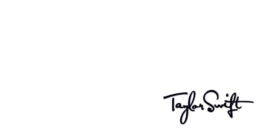 Taylor Swift S Signature Header