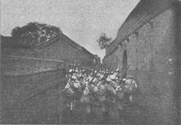 русские войска в Янцуне